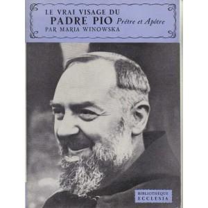 Vrai visage du Padre Pio Couverture du livre