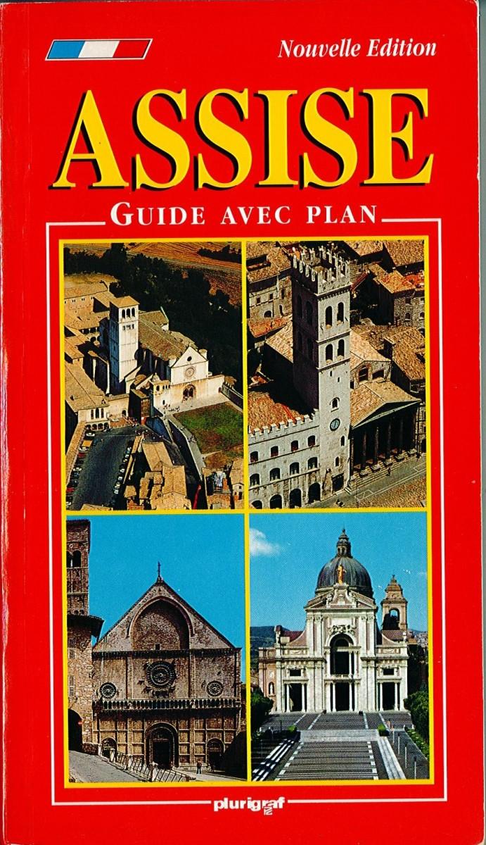 Assise, guide avec plan Couverture du livre