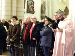 Dimanche 6 mars 2016 Eglise Notre Dame de Bressuire reconnaissance de la Fraternité Sainte Colette