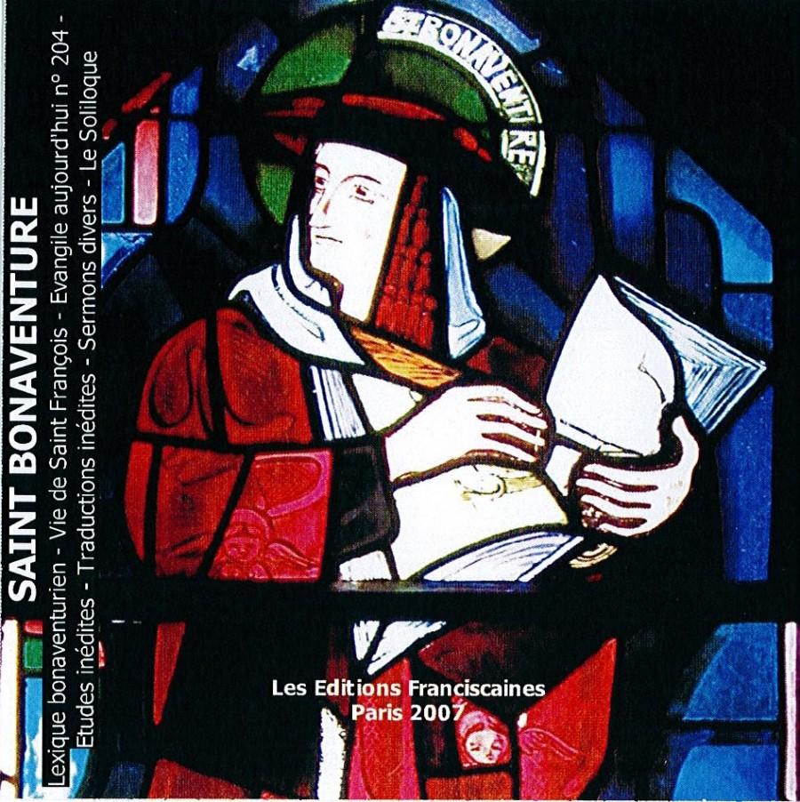 Saint Bonaventure Couverture du livre