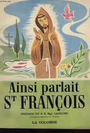 Ainsi parlait St François Couverture du livre