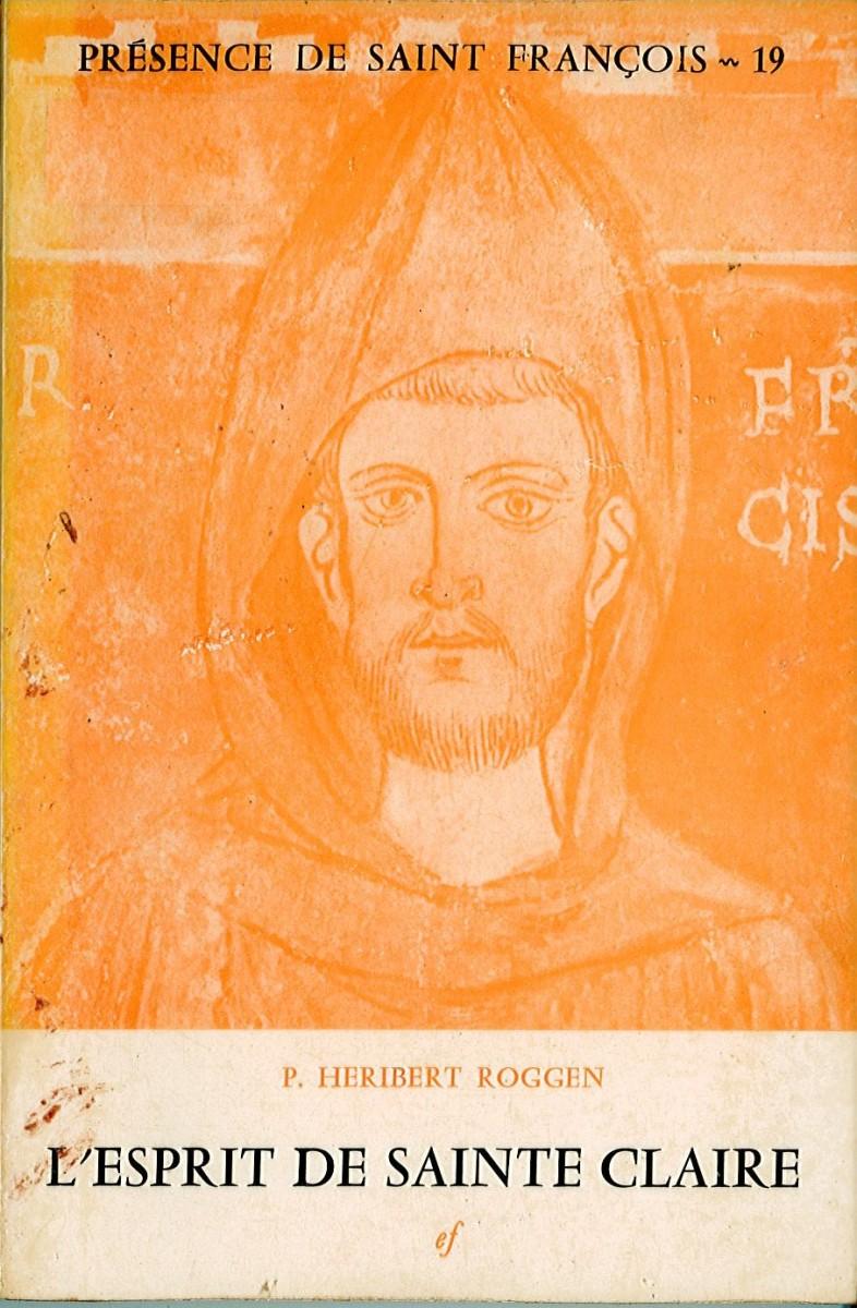 Esprit se sainte Claire (L') Couverture du livre