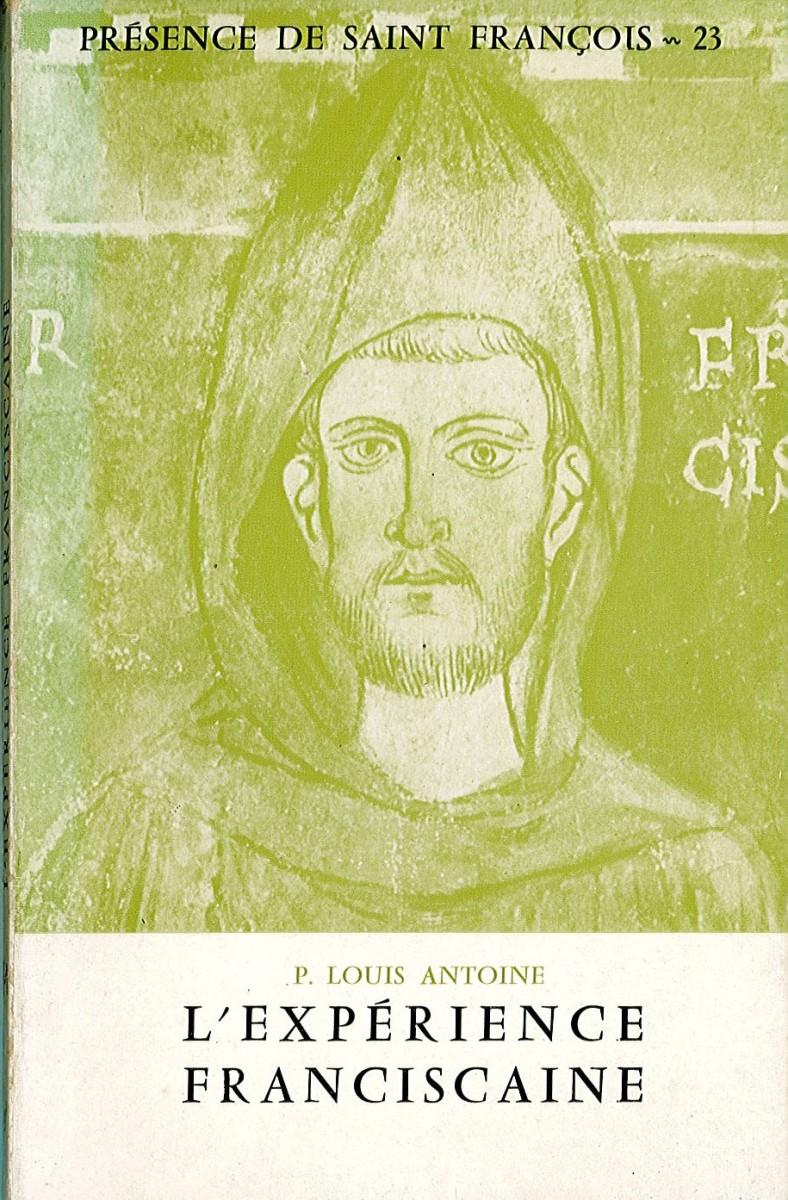 Expérience franciscaine (L') Couverture du livre
