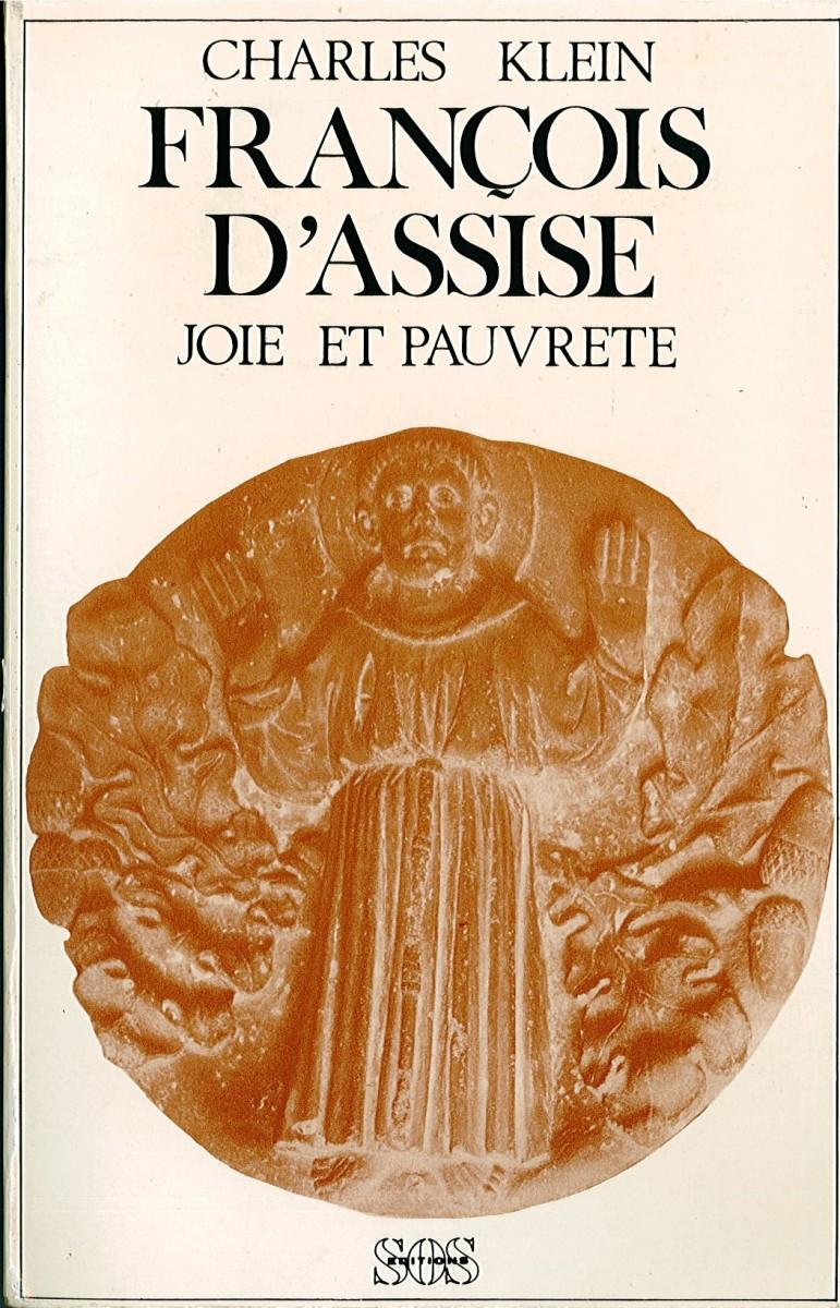 François d'Assise. Joie et pauvreté. Couverture du livre